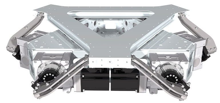 eM6-ROT-1000 motion system